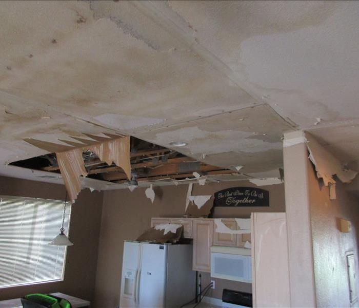 Severe Water Damage